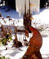 Ateliergarten im Winter